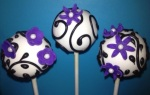 Purple Flower Pops