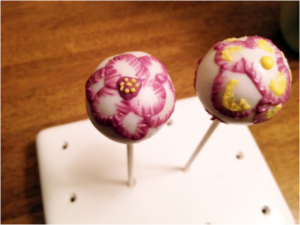 Embroidery Cake Pops