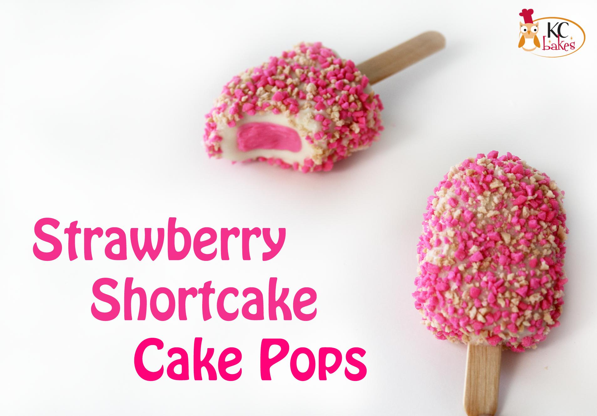 Strawberry Crunch Cake Pops
